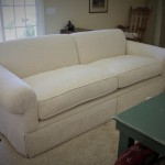 Custom White Sofa