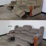 Recliner Sofa Before & After