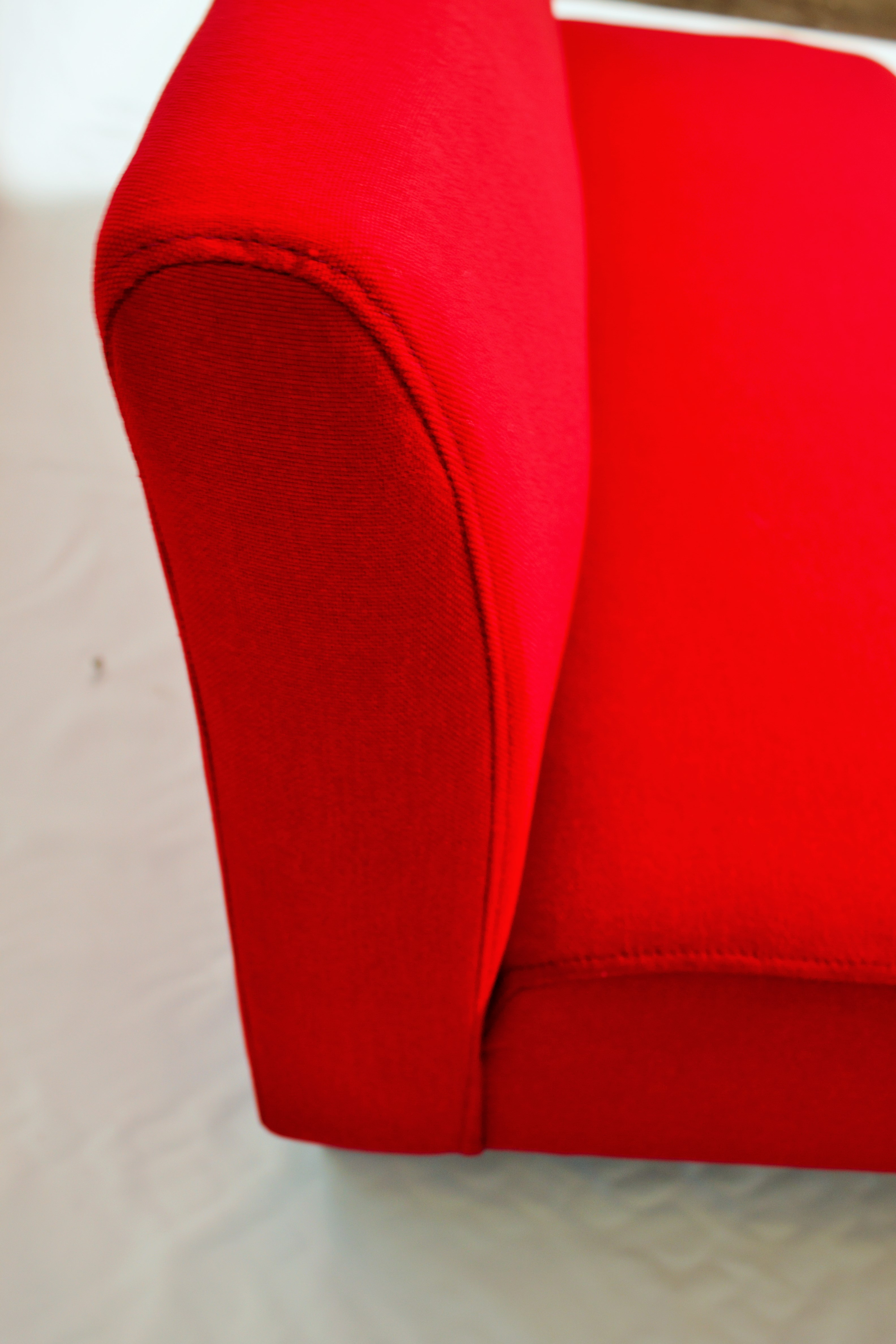 Red Sofa Arm