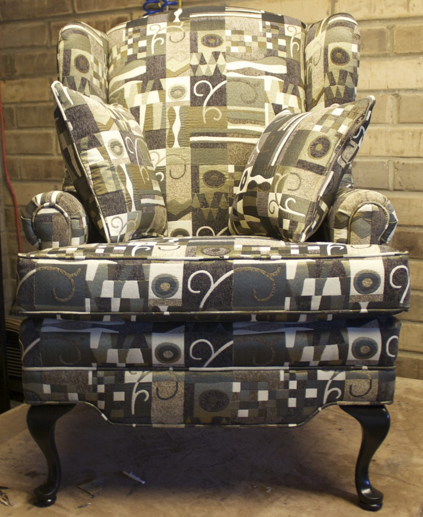 pattern chair front